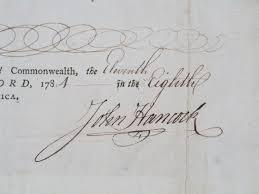 john hancock Autograph